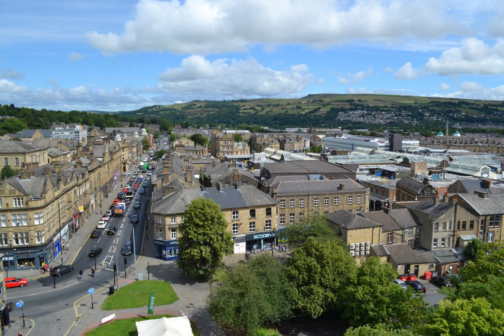 Image of View over Keighley